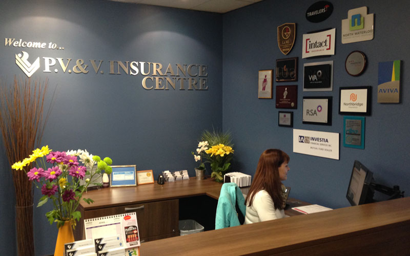 PV&V Insurance, serving Burlington & Niagara, Ontario